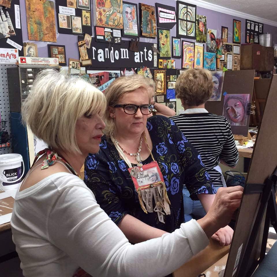 Gillian Lee Smith Workshop, Random Arts, North Carolina