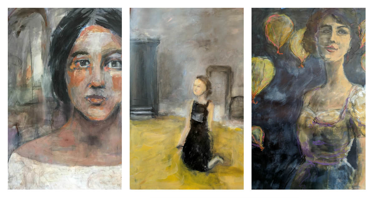 Gillian Lee Smith - Paintings by Kathie Vezzani, Kathy Sandler, Carol MacConnell