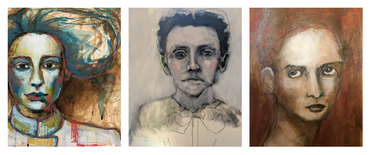 Gillian Lee Smith - Paintings by Kara Strachan Bullock, Erin Santen, Joan Tucker
